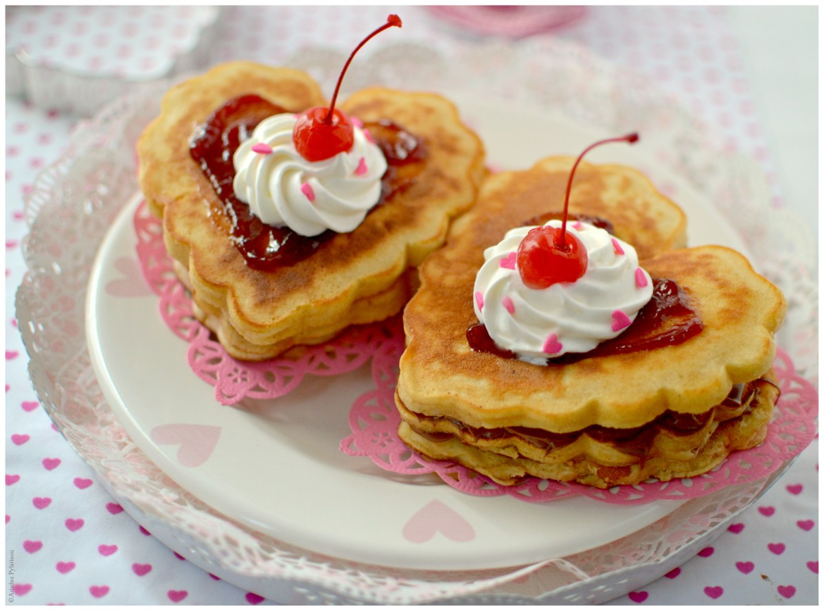 Valentine Dream Pancakes