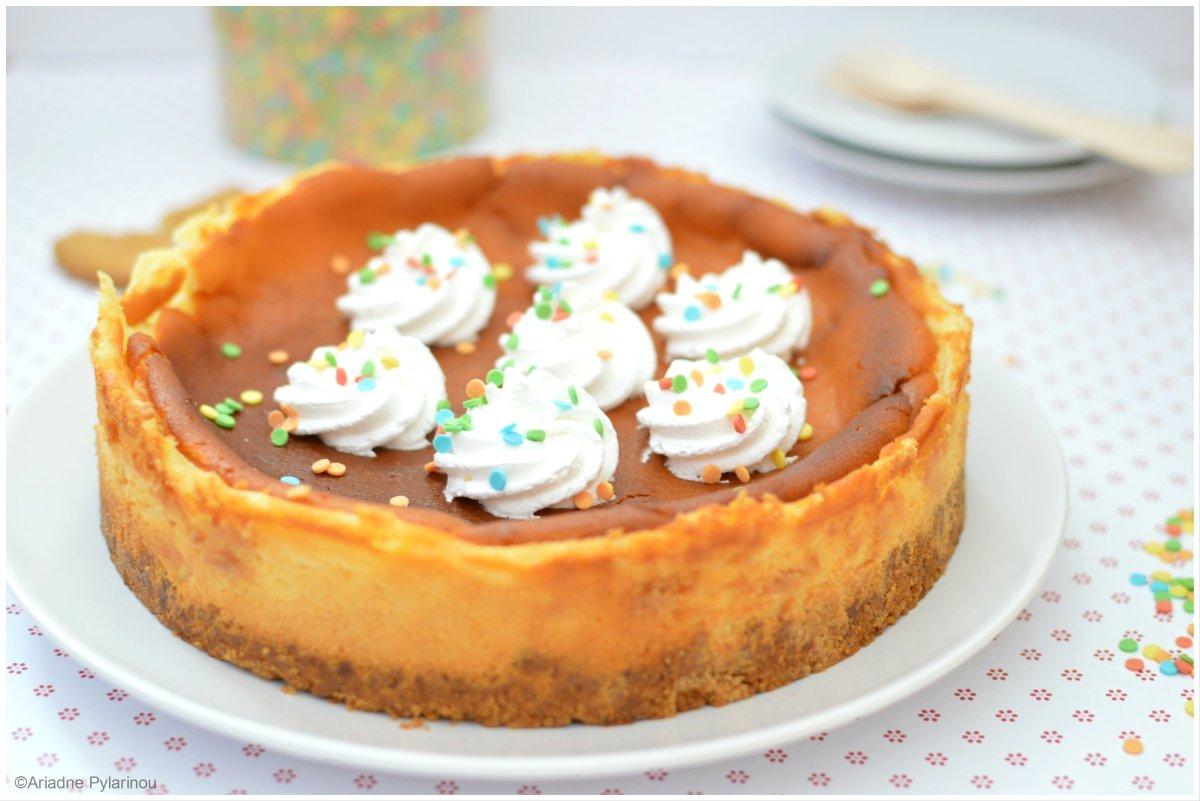 Αμερικάνικο cheesecake φούρνου
