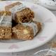 Μπάρες δημητριακών με βρώμη και φυστικοβούτυρο