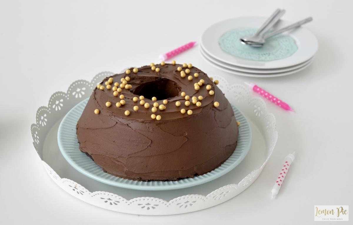 Vegan κέικ σοκολάτας