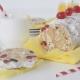 Κορμός λευκής σοκολάτας με ξηρούς καρπούς & γλυκό του κουταλιού