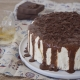 Τούρτα Semifreddo με ρούμι & σοκολάτα