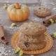Soft cookies με κολοκύθα & τζίντζερ