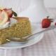 Vegan κέικ αμυγδάλου με άρωμα λεμονιού