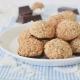 Cookies χωρίς αλεύρι, με καρύδα & βρώμη